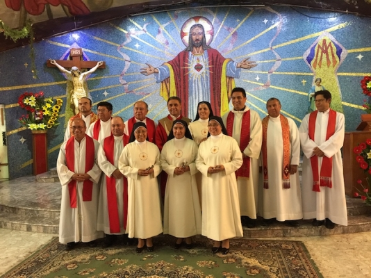 Profession of Perpetual Vows - June 2019